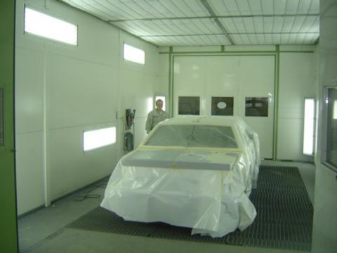 Automaalaus käynnissä